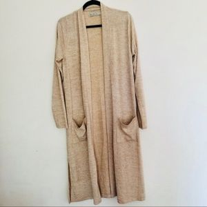 Abercrombie Fitch Long Cardigan Duster Sweater